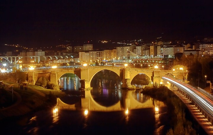 Las postales del mi o galiciaunica - Exteriores puente viejo ...