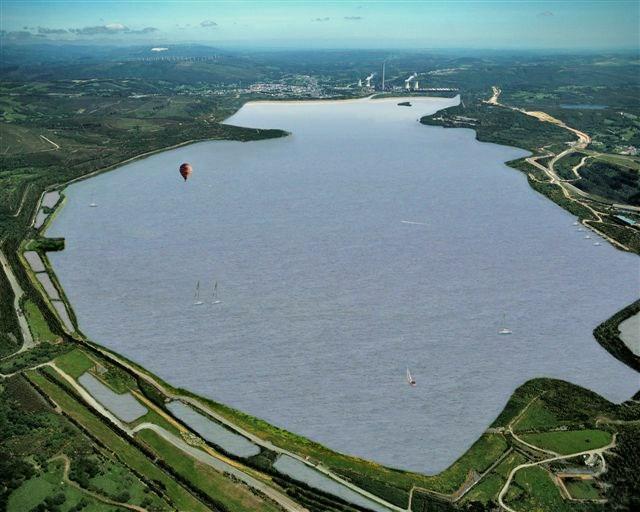 As pontes galiciaunica for Plasticos para lagos artificiales