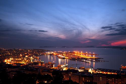historia puerto de vigo: