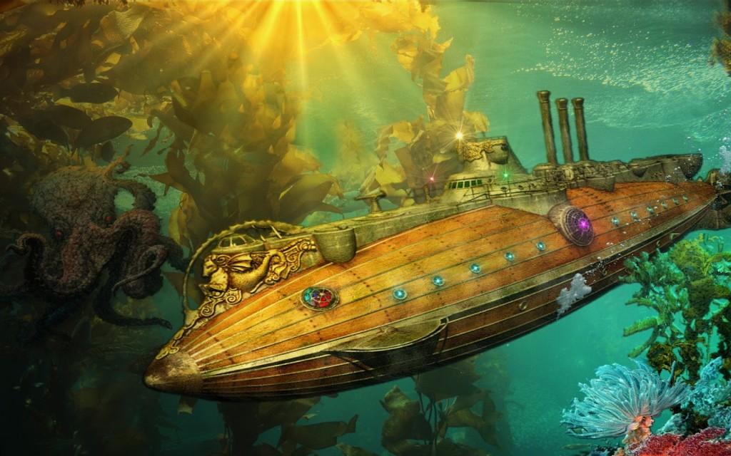 El Nautilus del Capitán Nemo.