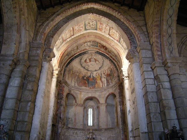 La Iglesia de San Salvador de Camanzo.