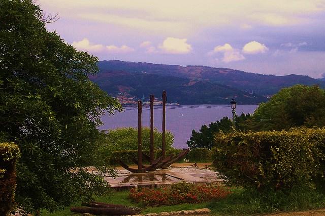 Monumento a la Batalla de Rande, en Vigo.