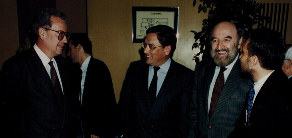 Xerardo, Ónega, Carcedo y Parada.