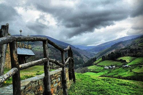 El valle de Taramundi...