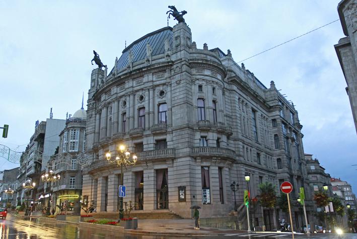 Arquitectura indiana en Vigo.