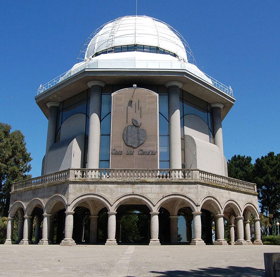 La Casa de las Ciencias de A Coruña.