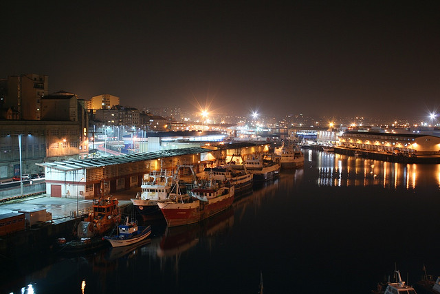 El Berbés, puerto pesquero