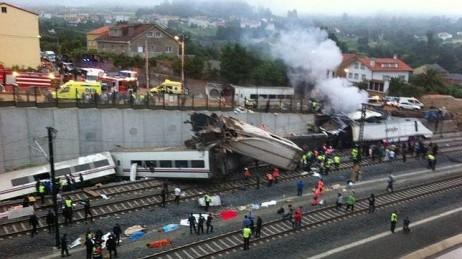 El tren de la tragedia quedó roto, como nuestras ilusiones.
