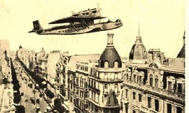 El Plus Ultra llegó primero a Montevideo...