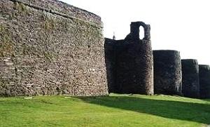 La muralla de Lugo.