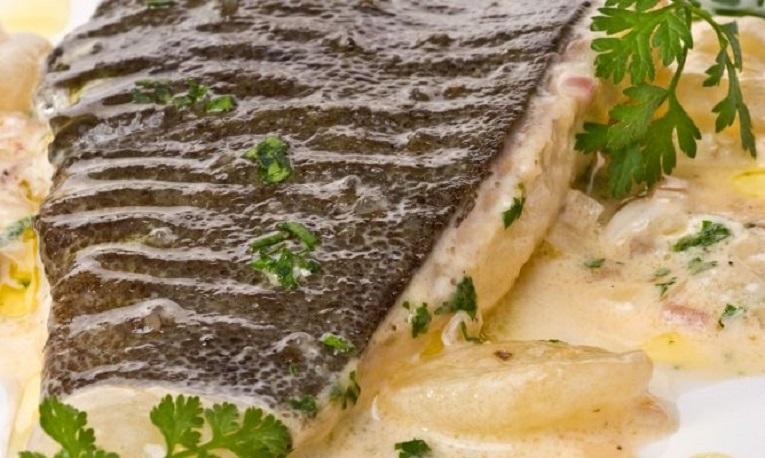 Exquisita preparación del cheff del Restaurante San Martiño.