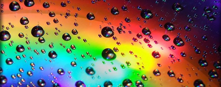 Gotas de Arco Iris de A. Fernández.