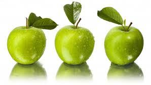 las manzanas verdes