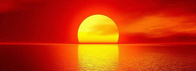 Resultado de imagen para puesta de sol