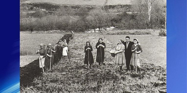 Nadie plasmó la vida de los caseros como aquel gran fotógrafo, Virxilio Vieitez.