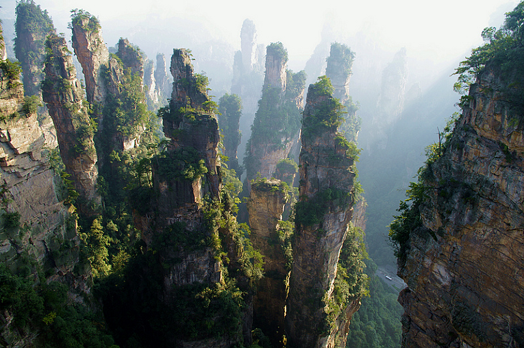 Yongzhou China  city photo : Tianzi Mountain China. Yongzhou, China