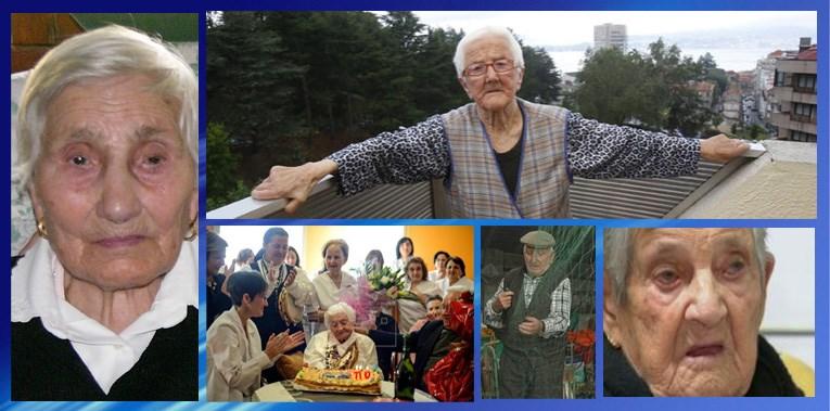 Aurora, 106. Laura, 104 años. Josefa, 110. Alejandro, 101. Y Luisa, 104.