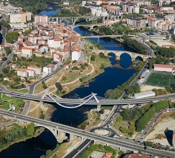 Los puentes de Ourense.