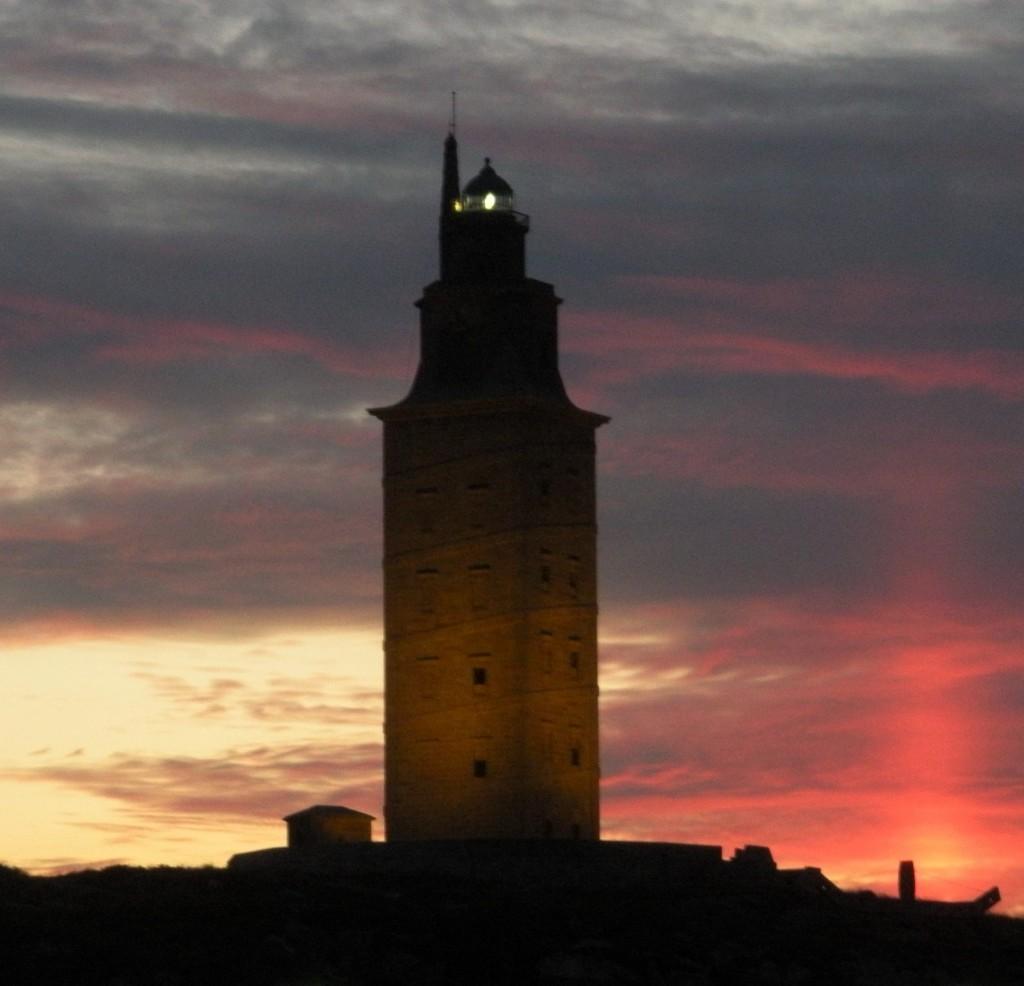 La mítica Torre de Hércules, el Faro Patrimonio de la Humanidad.