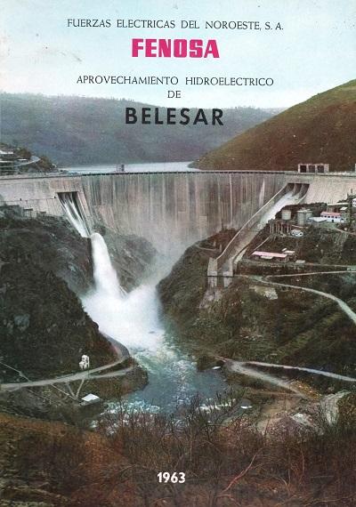 Portada del libro editado en 1963 para una colección interna de la empresa FENOSA. (Archivo A.P.)